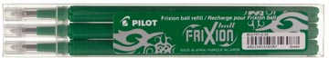 Pilot recharge pour FriXion Ball et Frixion Ball Clicker, pointe moyenne, vert