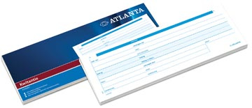 Atlanta by Jalema carnet de reçus, ft 7,4 x 21 cm