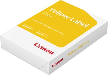 Canon Yellow Label Copy papier reprographique, ft A4, 80 g, paquet de 500 feuilles