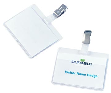 Durable badge avec clip