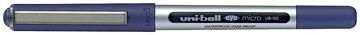 Uni-ball Eye Micro roller, largeur de trait: 0,2 mm, bille 0,5 mm, bleu