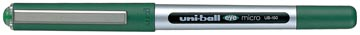 Uni-ball Eye Micro roller, largeur de trait: 0,2 mm, bille 0,5 mm, vert