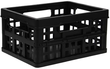 Really Useful Box bac pliante 1,7 litre, noir
