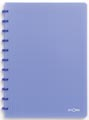 Atoma cahier Trendy ft A4, quadrillé 5 mm, bleu transparent