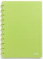 Atoma cahier Trendy ft A4, quadrillé 5 mm, vert transparent